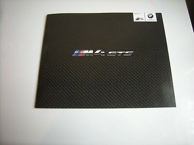 Catalogue Brochure Prospekt Catalogue BMW M4 GTS 2015