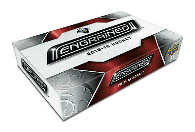 2018-19 Upper Deck Engrained Hockey Hobby Box New/Sealed NOW SHIPPING