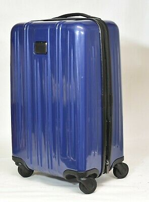 "New! TUMI International Expandable Carry-On 22"" Blue 4 Wheel 228260PAC MSRP $675"