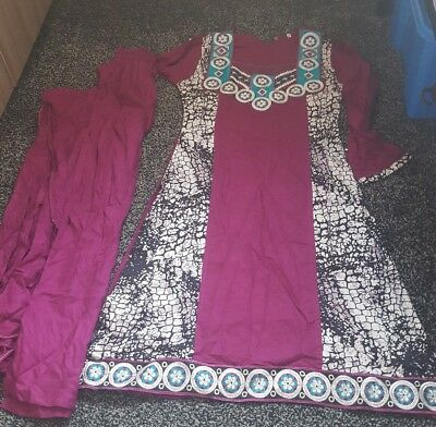 brand new girls shalwar kameez trouser suit size 32
