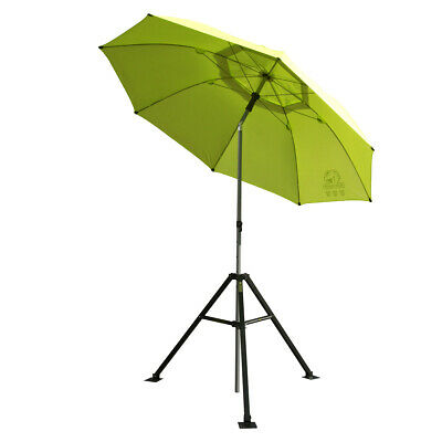 Revco Black Stallion Core Flame-Resistant Industrial Umbrella & Stand UB250-YEL