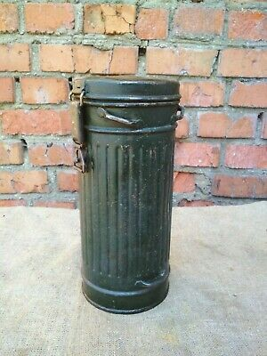 Gas Mask Container Box Canister WW2 German Original Military