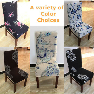 4Pcs Stretch Dining Chair Cover Washable Removable Slipcover Dinning Cover