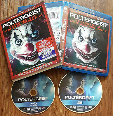 /701 Poltergeist 3D & 2D Blu-ray Set with Slipcover (Region A, Bilingual)