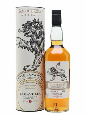 Game of Thrones Lagavulin 9 Year Old - House Lannister Single Malt Whisky 700ml