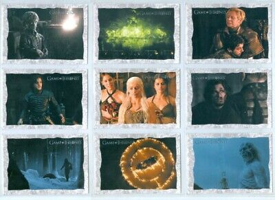 """Complete Storyboard Art Cards Set Sb01-Sb20"" Game Of Thrones Season 2"