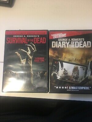 Survival of the Dead (Two-Disc Ultimate Undead Edition) And Diary Of The Dead.