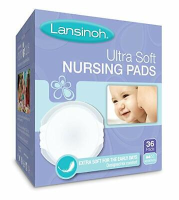 Lansinoh Ultra Soft Nursing Pads Disposable Ultra Soft 36 Count NEW