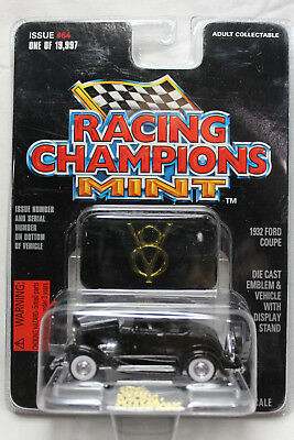 Racing Champions 1:54 Scale MINT 1932 FORD COUPE (BLACK)