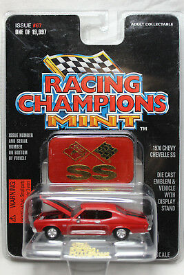 Racing Champions 1:60 Scale MINT 1970 CHEVY CHEVELLE SS (RED)