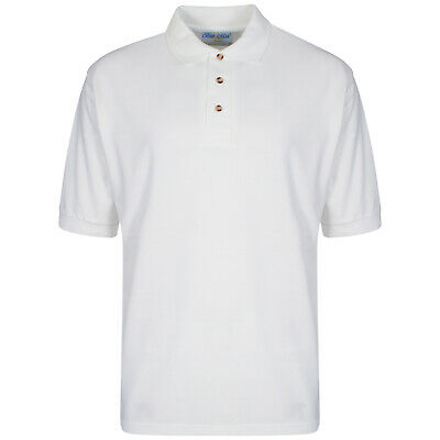 Pack of 5 Mens Polo Shirts Summer Causal Work Wear Top Light Weight Size