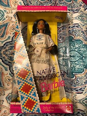 1992 Dolls Of The World Native American Barbie-  Special Edition  *Nrfb*