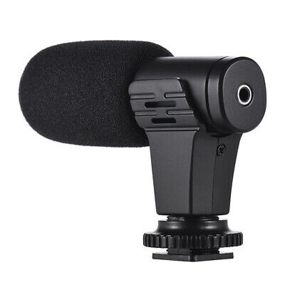 Mic-06 Mobile Phone Microphone Video Mic+Clip For Iphone Samsung Smartphone C9W1