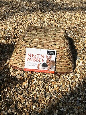 Small N Furry Nest N Nibble Bed Hideout Chew Toy Rabbit Guinea Pig Chinchilla