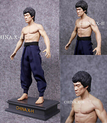 CHINA.X-H Bruce Lee The Return of The Kung Fu Master Statue Figure Limited 300