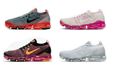 899d41fbbe 2019 Womens VaporMax Flyknit 3 Air Casual Sneakers Running Sports Trainer  Shoes