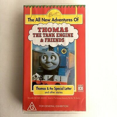 Thomas The Tank Engine & Friends: The Special Letter. VHS Video Tape ABC Kids