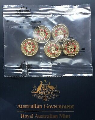 2019 Bringing Them Home 100 Years of Repatriation Coloured $2 Five Coin Bag