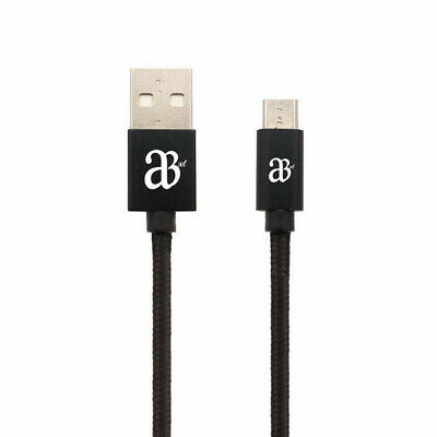 Fast microUSB Cable, 1M 2M 3M High Speed Data Sync Fast Charger Braided Lead