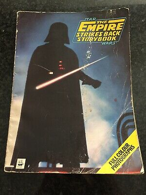 Vintage Star Wars The Empire Strikes Back Official Storybook 1980