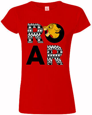 Ladies The Lion King Simba Cub Official Tee T-Shirt Womens Girls