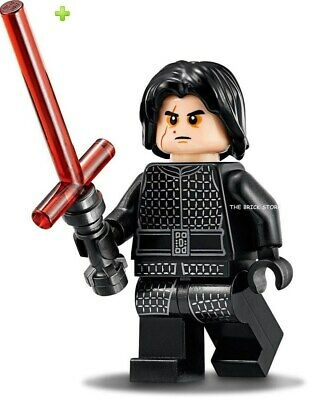 Lego Star Wars - Kylo Ren Without Cape Figure - Fast + Gift - 75196 - 2019 - New