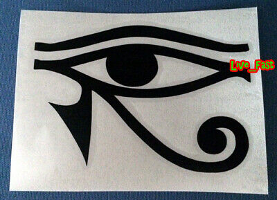 EYE OF HORUS DECAL STICKER VINYL wadjet wedjat or udjat ancient Egyptian deity