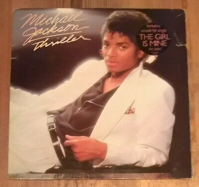 Michael Jackson ‎– Thriller Vinyl LP Album Gate 33rpm 1982 Epic ‎– EPC 85930