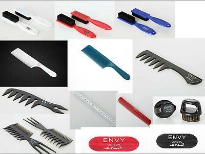 Envy London Combs Brushes For The Professional Barbering Hairdressing Industry