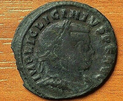 Roman Empire - Licinius I 308-324 AD AE Follis Jupiter Siscia Ancient Roman Coin