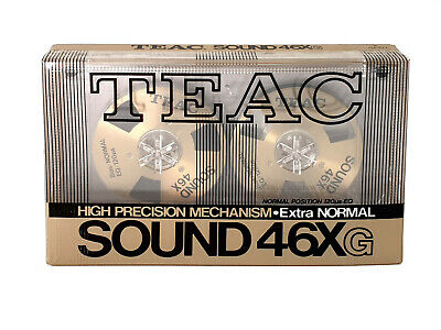 Teac Sound 46X Reel To Reel Neuf - Tapes Teac Sound 46X New & Sealed