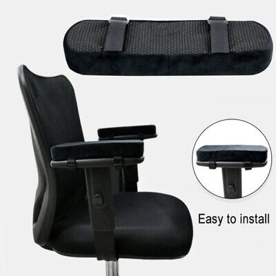 Furniture Accessories 2pcs Chair Armrest Pads Ultra-soft Memory Foam Elbow Pillow Support Universal Fit For Home Or Office Chair For Elbow Relief
