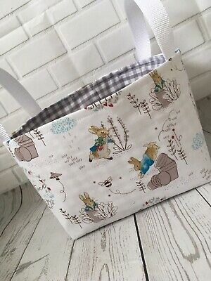 Large Peter Rabbit Nursery Basket - Many Other Items Listed