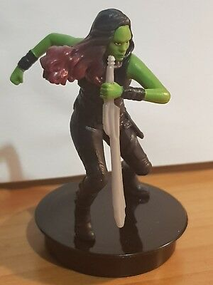 Marvel topper cinema guardians of the galaxy GAMORA 7 cm nuovo new guardiani