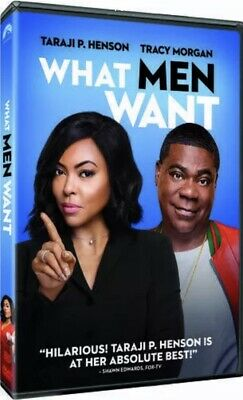 What Men Want [DVD] [2019] NEW-Rom Comedy, Fantasy - FREE SHIPPING!!!