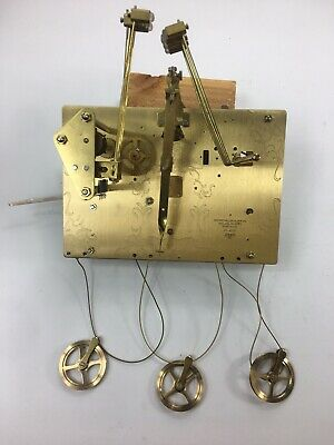 Howard Miller 461-850BS Grandfather Clock Movement With Pulleys