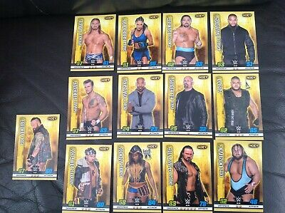 13 x Topps WWE Slam Attax 10th Edition Cards NXT