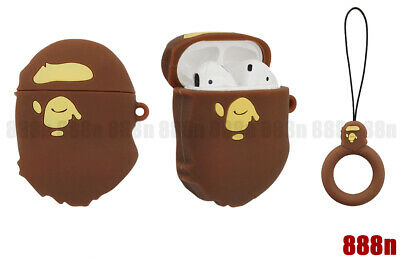A Bathing Ape BAPE Silicone Case Cover For Apple AirPods (1st & 2nd generation)