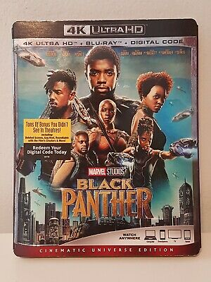 Black Panther 4K Blu-ray sealed New Digital Copy MAY only work in Canada