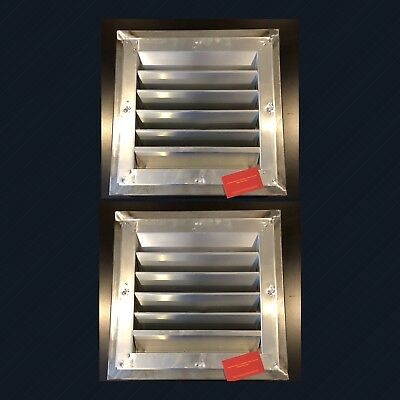 TWO Cargo Container Vent - WELD ON - Conex Vents Helps Prevent Condensation !