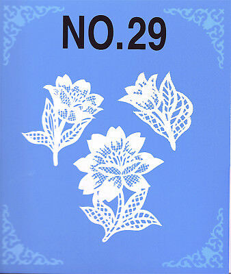 LACE  #29 Embroidery Memory Card - Brother, Bernina Deco, Baby Lock .pes