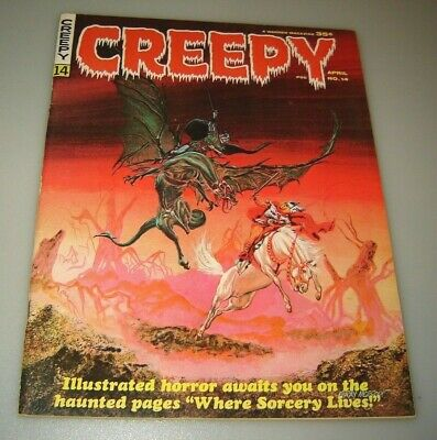 Creepy #14 April 1967 Vf+ Warren Pubs Classic Gray Morrow Cover