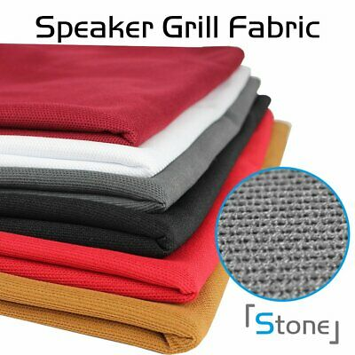 "Fast Shipping Stereo Speaker Grill Cloth Fabric 40"" x 55"" 15.2Square Feet FT 3D"