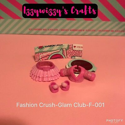 LOL Surprise Eye Spy Fashion Crush Glam Club Pink Skirt Top Outfit F-001 New