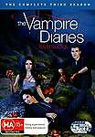Vampire Diaries : Season 3 (DVD, 2012, 5-Disc Set) Region 4 Used VGC   FREE POST