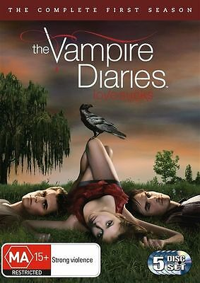 Vampire Diaries : Season 1 (DVD, 2010, 5-Disc Set) R4 Used Like NEW FREE POSTAGE