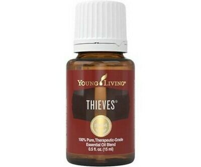 Young Living Essential Oils THIEVES 15 ml/0.5 oz - NEW! Fast Free Shipping!