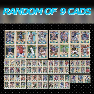 2019 GYPSY QUEEN BASE RANDOM SET OF 9 CARDS Topps Bunt Digital Card