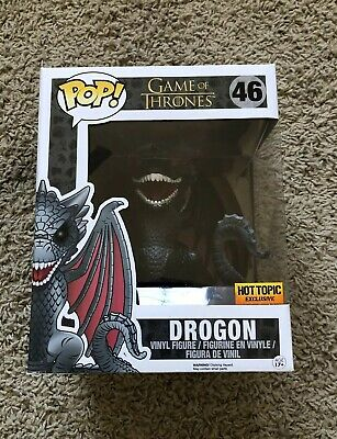 Funko Pop Game of Thrones 6 Inch Drogon Hot Topic Exclusive
