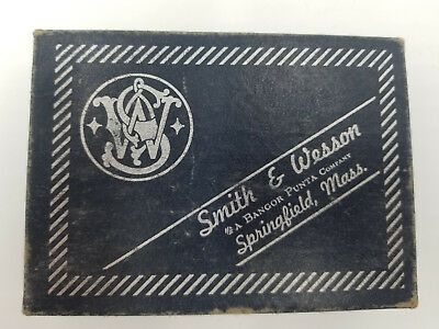 Smith & Wesson Belt Buckle Box for Model 600 (EMPTY)